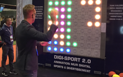 Very much like a swiss army knife, the interactive wall is much more than a single use piece of equipment.